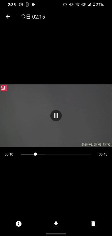 記録済ビデオデータの再生