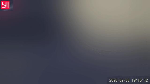 ビデオに記録されたロゴとタイムコード