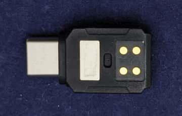 スマートフォンアダプタ USB Type-C 接点
