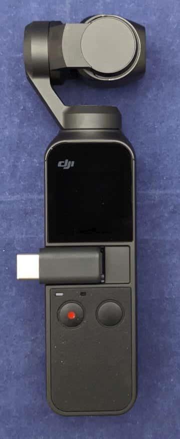 スマートフォンアダプタを装着