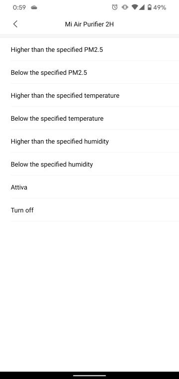 Mi Air Purifier 2Hの条件