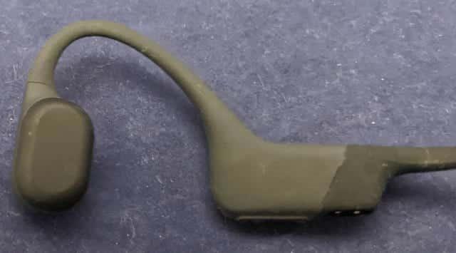 骨伝導ワイヤレスヘッドホンAS801 耳に当てる部分
