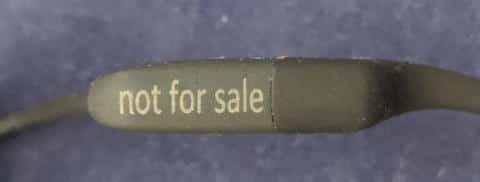 骨伝導ワイヤレスヘッドホンAS801 not for sale
