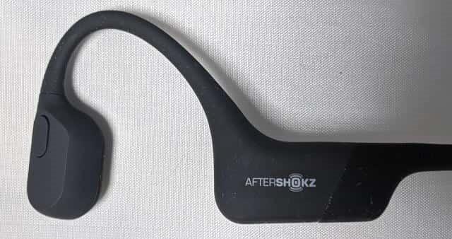 骨伝導ワイヤレスヘッドホンAS801 左側
